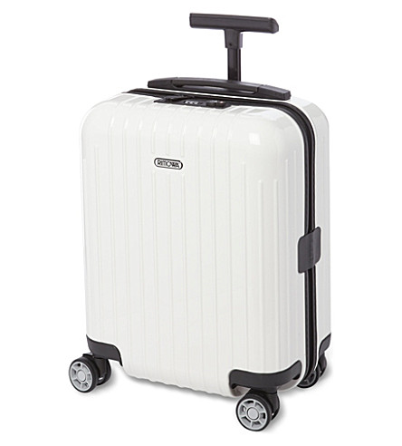 RIMOWA Salsa Air four-wheel mini suitcase 43cm (Carrara+white