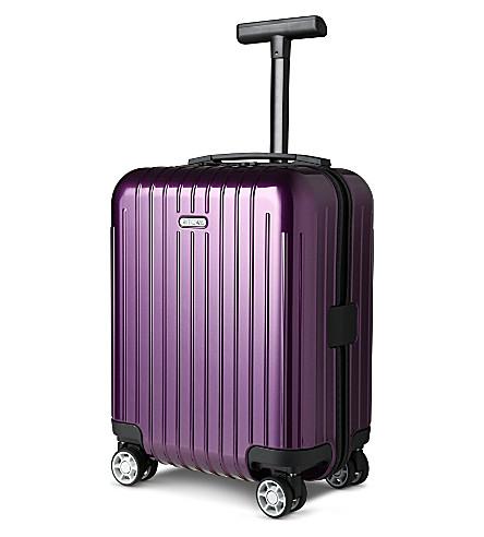 RIMOWA Salsa Air four-wheel mini suitcase 43cm (Ultra violet