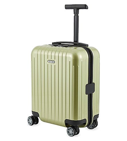 RIMOWA Salsa Air mini four-wheel spinner suitcase 43cm (Lime+green