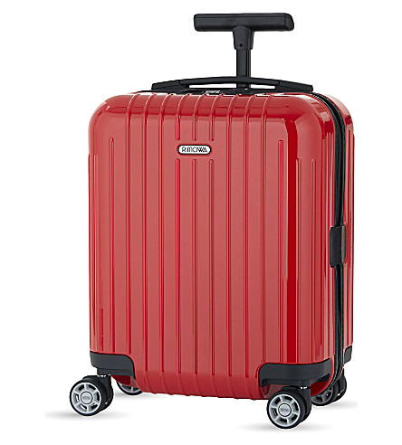 RIMOWA Salsa Air four-wheel cabin suitcase 43cm (Guards+red