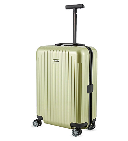 RIMOWA Salsa Air four-wheel cabin trolley 55cm (Lime+green