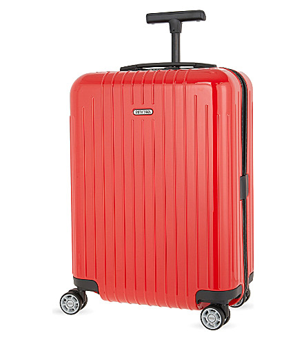 RIMOWA Salsa Air Ultralight cabin four-wheel cabin suitcase 55cm (Guards+red