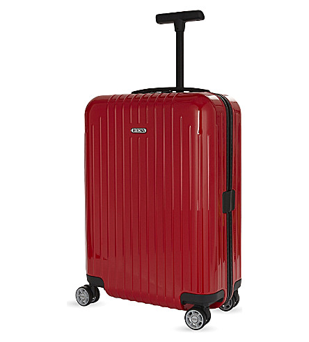 RIMOWA Salsa Air polycarbonate four-wheel suitcase 55cm (Guards+red