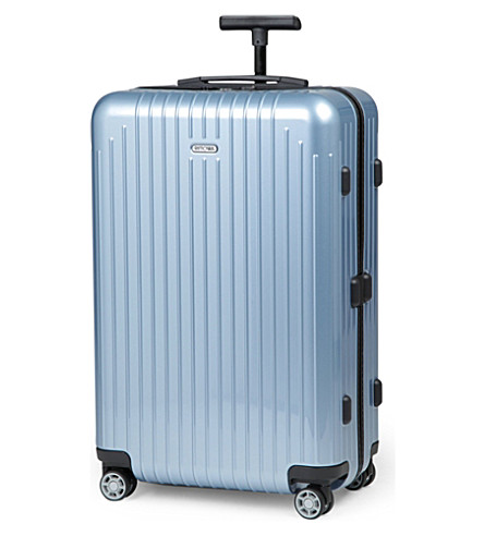 RIMOWA Salsa Air four-wheel suitcase 67cm (Ice+blue