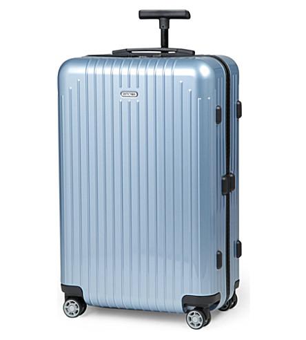 RIMOWA Salsa Air four-wheel suitcase 63cm (Ice+blue