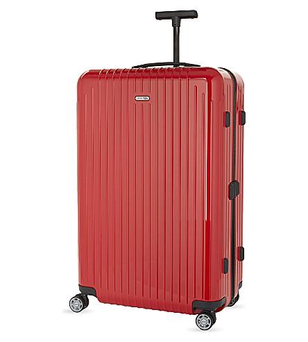 RIMOWA Salsa Air four-wheel suitcase 75cm (Guards+red