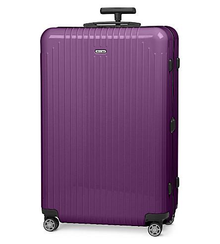 RIMOWA Salsa Air four-wheel suitcase 73cm (Ultra+violet