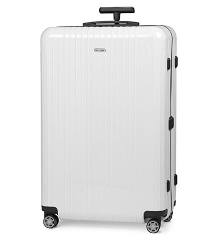 RIMOWA Salsa Air four-wheel suitcase 78cm (Carrara+white