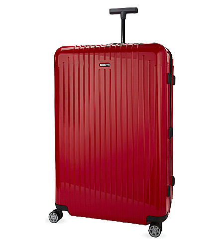 RIMOWA Salsa Air four-wheel suitcase 78cm (Guards+red