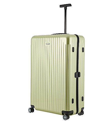 RIMOWA Salsa Air four-wheel suitcase 81cm (Lime+green