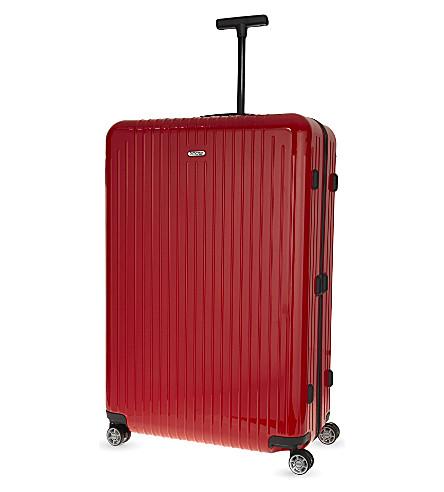 RIMOWA Salsa air four-wheel suitcase 81cm (Guards+red