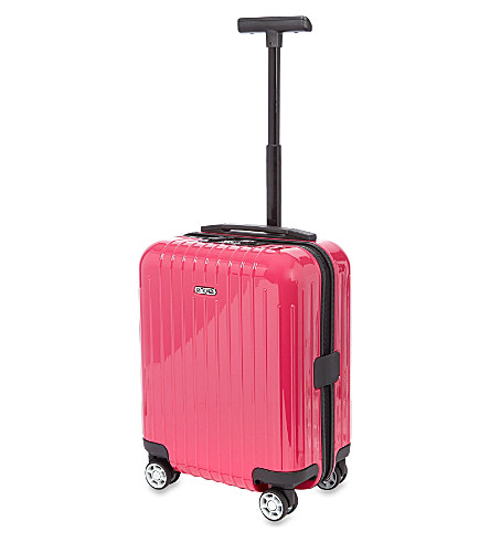 RIMOWA Salsa air mini four-wheel spinner suitcase 43cm (Rubin+red