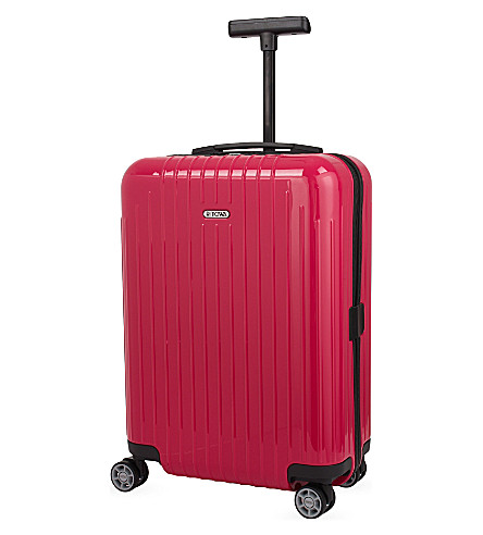 RIMOWA Salsa Air four-wheel cabin suitcase 55cm (Rubin+red
