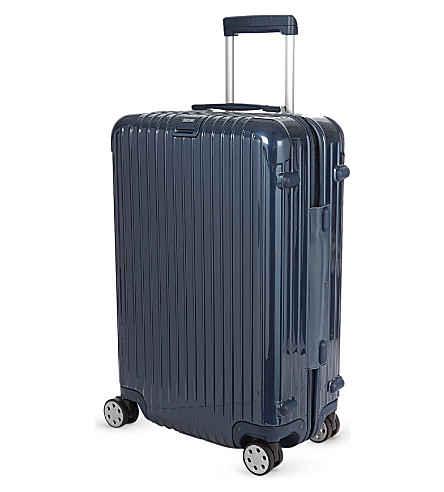 RIMOWA Salsa Deluxe four-wheel spinner suitcase 81.5cm (Yachting+blue