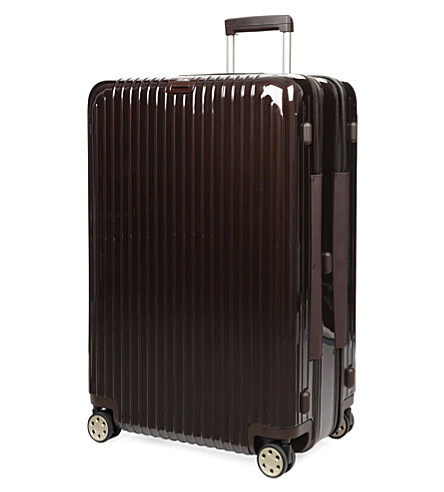 RIMOWA Salsa Deluxe suiter four-wheel suitcase 81cm (Brown