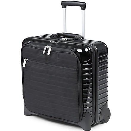 RIMOWA Salsa Deluxe Hybrid two-wheel business trolley (Black