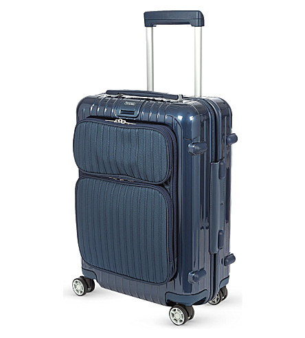 RIMOWA Salsa Deluxe Hybrid four-wheel cabin suitcase 55cm (Yachting+blue