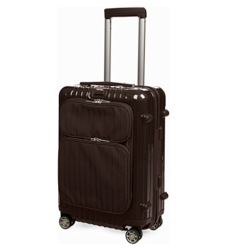 RIMOWA Salsa Deluxe Hybrid IATA four-wheel cabin suitcase 55cm (Brown