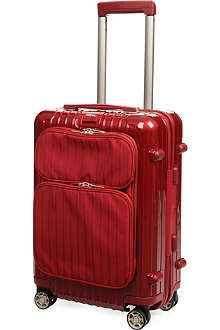 RIMOWA Salsa Deluxe Hybrid IATA four-wheel cabin suitcase 55cm