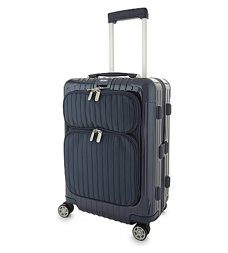 RIMOWA Salsa Deluxe Hybrid cabin suitcase 55cm (Yachting+blue