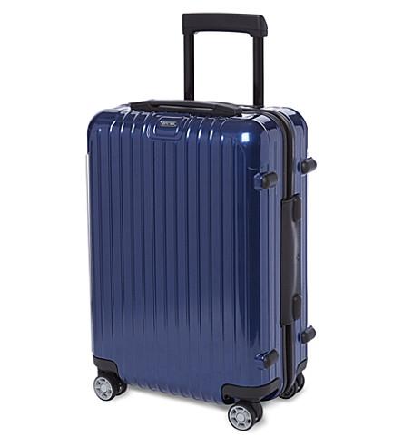 RIMOWA Salsa four-wheel cabin suitcase 55cm (Cobalt
