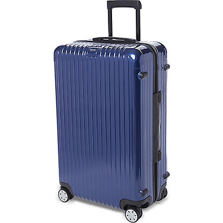 RIMOWA Salsa four-wheel suitcase 76cm (Cobalt