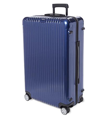 RIMOWA Salsa four-wheel suitcase 82cm (Cobalt