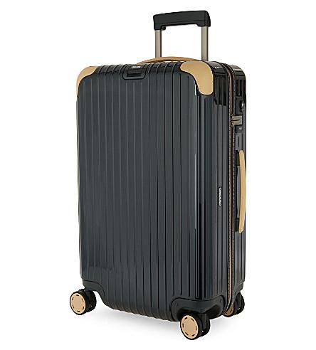 RIMOWA Bossa Nova four-wheel suitcase 82cm (Green+/beige