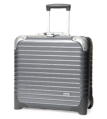RIMOWA Limbo two-wheel business trolley 40cm (Seal+grey