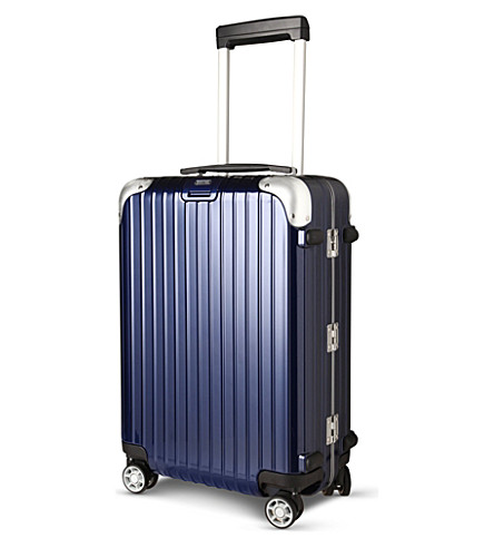 RIMOWA Limbo four-wheel cabin suitcase 55cm (Navy