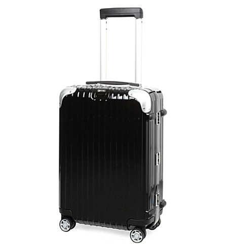 RIMOWA Limbo four-wheel IATA cabin suitcase 55cm (Black