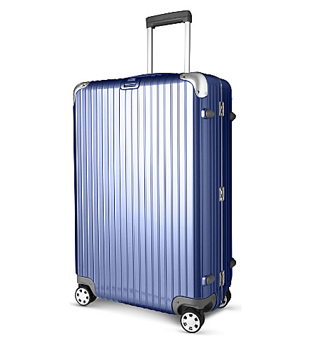 RIMOWA Limbo four-wheel suitcase 74cm (Night+blue