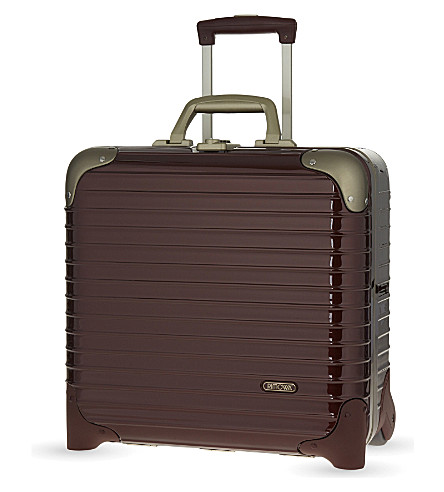 RIMOWA Limbo two-wheel business trolley 40cm (Carmona+red