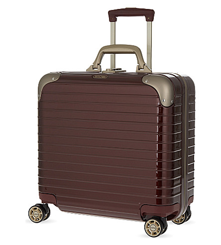 RIMOWA Limbo four-wheel business case 42.5cm (Carmona+red