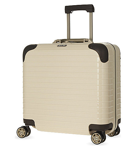 RIMOWA Limbo four-wheel business multiwheel 42.5cm (Creme+white