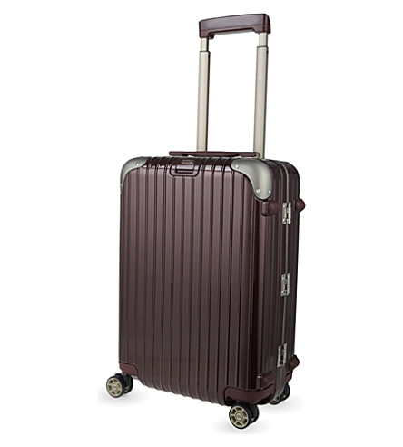 RIMOWA Limbo four-wheel cabin suitcase 55cm (Carmona+red