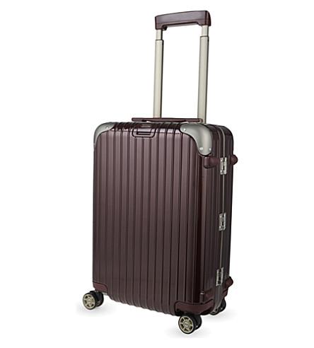 RIMOWA Limbo four-wheel cabin suitcase 55cm (Carmona+red