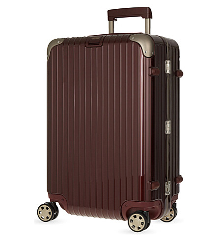RIMOWA Limbo four-wheel suitcase 66cm (Carmona+red