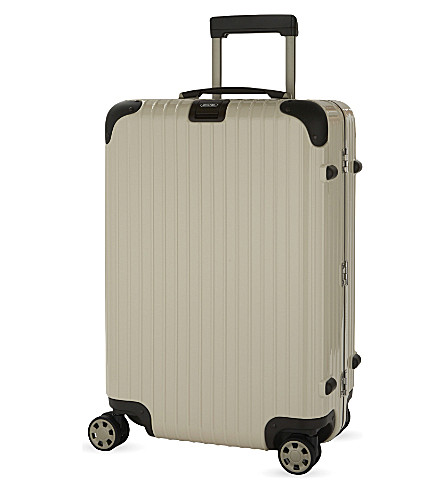 RIMOWA Limbo four-wheel suitcase 55cm (Creme+white