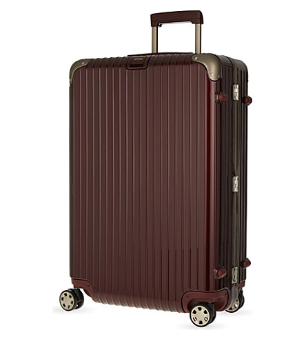 RIMOWA Limbo four-wheel suitcase 78cm (Carmona+red