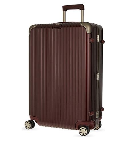 RIMOWA Limbo four-wheel suitcase 78cm (Carmona+red