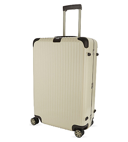 RIMOWA Limbo four-wheel suitcase 78cm (Creme+white