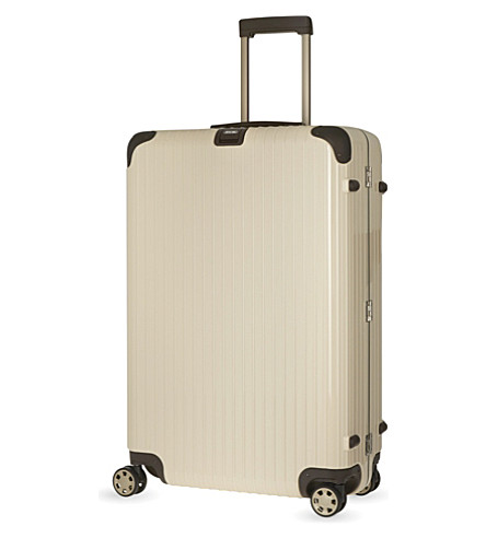 RIMOWA Limbo E-tag four-wheel suitcase 81cm (Creme+white