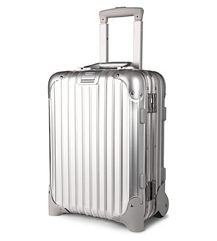 RIMOWA Topas mini suitcase (Silver