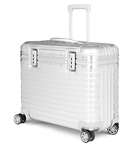 RIMOWA Pilot four-wheel business trolley 53cm (Silver