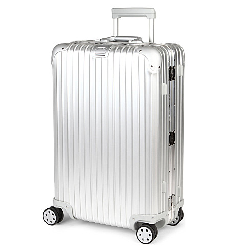 RIMOWA Topas four-wheeled suitcase 69cm (Silver