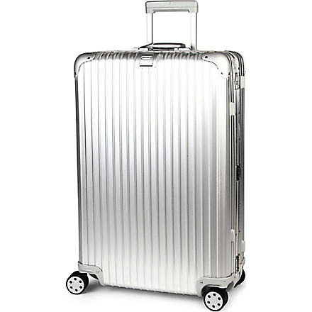 RIMOWA Topas four-wheel suitcase 77.5cm (Silver