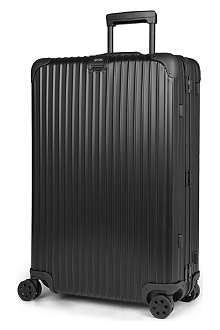 RIMOWA Topas Stealth four-wheel suitcase 77.5cm