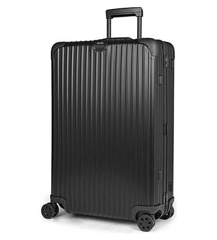 RIMOWA Topas Stealth four-wheel suitcase 77.5cm (Black