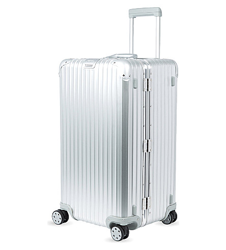RIMOWA Topas four-wheel suitcase (Silver